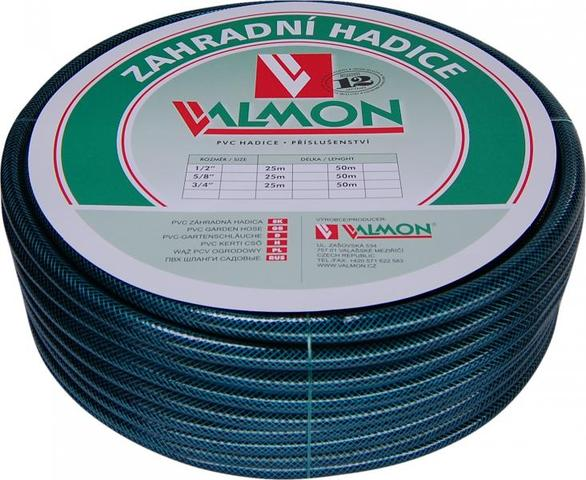 "VALMON Zahradní hadice PVC 1/2"" x 20m - neprůhledná Pmax 8BAR"
