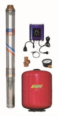 Aquacup Domácí vodárna Energy Sub Control 45/100 - 750W, 2700l/hod