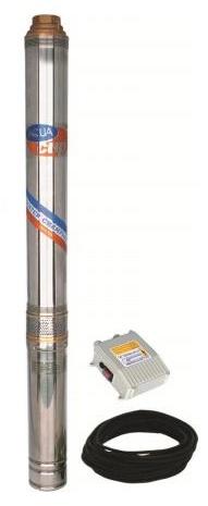 """Aquacup 4"""" ELECTRA, 2200W, 9000l/h Ponorné vícestupňové čerpadlo 2129"""