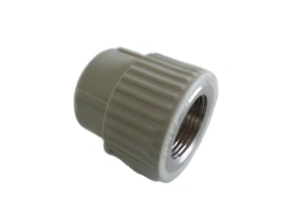 """Aquaplast PPR DG přechodka s kovovým závitem vnitřním 20 x 3/4"""""""