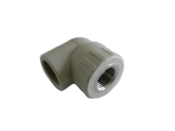 """Aquaplast PPR koleno s kovovým závitem vnitřním 25 x 3/4"""""""