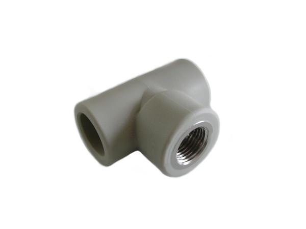 "Aquaplast PPR T-kus s kovovým závitem vnitřním 25 x 1/2"""