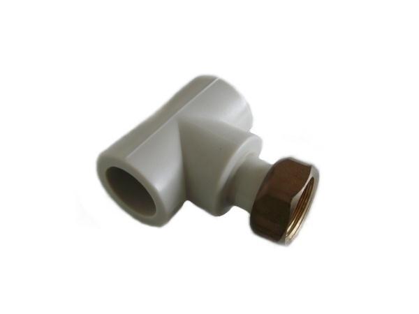 """Aquaplast PPR T-kus s převlečnou maticí 32 x 3/4"""""""