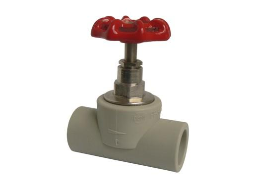Aquaplast PPR ventil přímý plastový 63mm