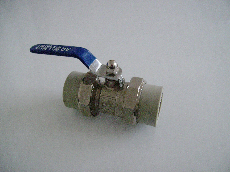Aquaplast Kulový kohout s varným PPR šroubením 32mm