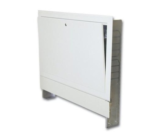 Steno Skříň rozdělovače pod omítku šíře 450mm, pro podlahové vytápění 5-6 obvodů