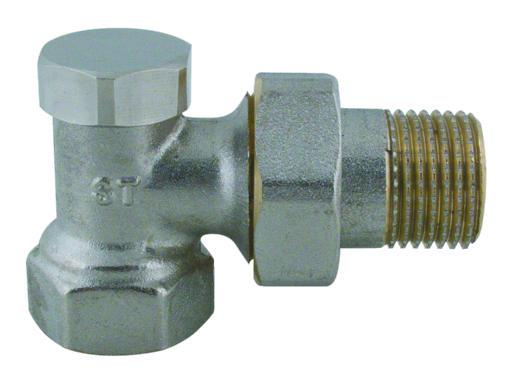 """Steno 408 Regulační ventil rohový 3/8"""""""