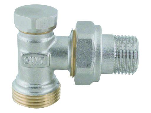 """Steno 410 Regulační ventil rohový s eurokonusem 1/2""""x3/4"""""""