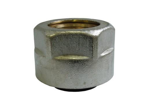 Adaptér pro připojení měděných trubek na ventil s eurokonusem 3/