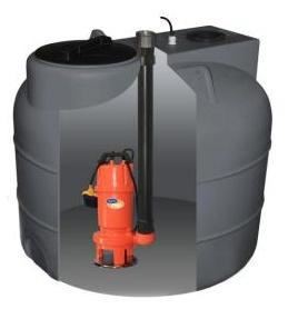 Aquacup SUMOBOX 500/Shredd Automatický přečerpávací box