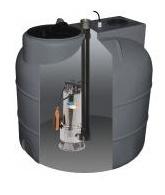 Aquacup SUMOBOX 500/Best Inox 1500 Automatický přečerpávací box