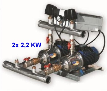Aquacup EASY 20/ Multi EVO 8-50 M Automatická tlaková stanice