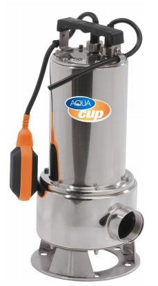 Aquacup BEST INOX 1500, 1500W, 30000l/h Ponorné kalové čerpadlo