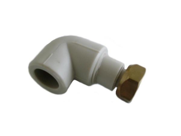 """Aquaplast PPR koleno s převlečnou maticí 20 x 1/2"""""""