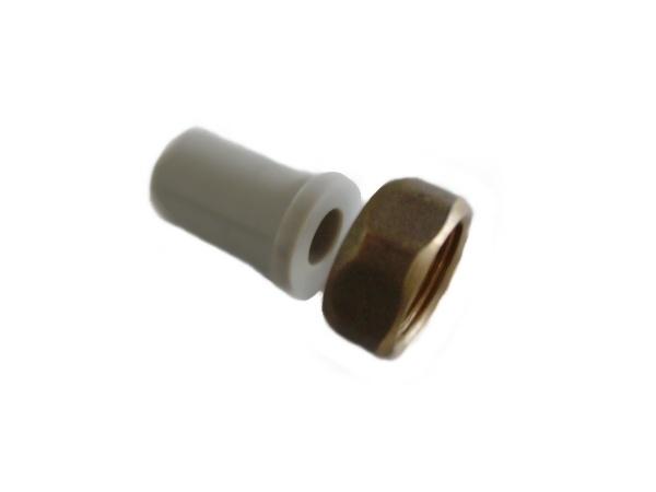 """Aquaplast PPR hrdlo s převlečnou maticí 20 x 3/4"""""""