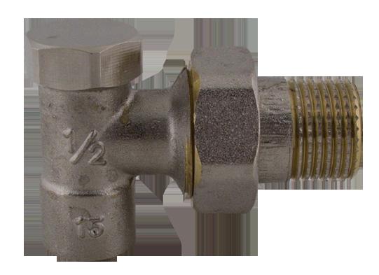 Steno Regulační ventil rohový, pájecí - navařovací