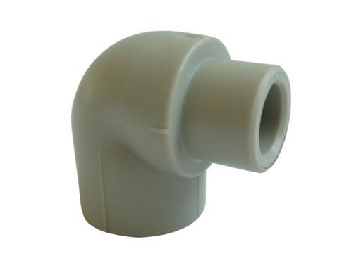 Aquaplast PPR koleno 90° 20 mm čepové