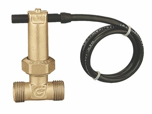 "Caleffi 315 Magnetický detektor průtoku vody 1/2"""